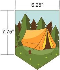 Amazon Com Pancartas De Camping Suministros Para Fiestas