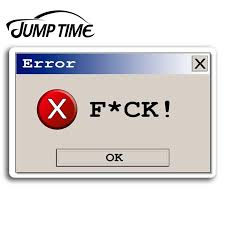 Jump Time For Computer Programmer Geek Vinyl Stickers Sticker Laptop Luggage Car Decal Window Wiper Trunk Car Styling Car Stickers Aliexpress