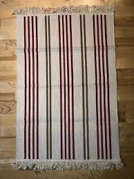 ikea signe rug flatwoven navy striped