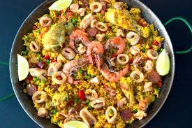 Easy Chicken and Seafood Paella - Fish ...