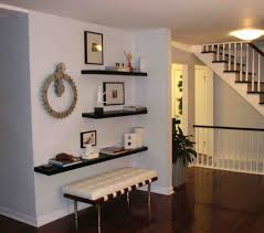 space saving floating wall shelving ideas