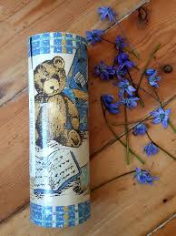 Teddy Bear Printed Border For Wall Paper Roll Kids Nursery Etsy