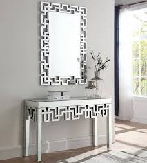 meridian aria console table and mirror