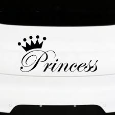 Pretty Fashion Princess Car Sticker Stylish Art Design Decals Automobiles Products For Cars Styling Wall Door Laptop Decoration Car Stickers Aliexpress