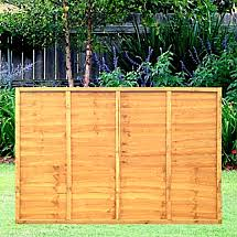 6ft X 4ft Fence Panels Lap Fencing Fence Rite