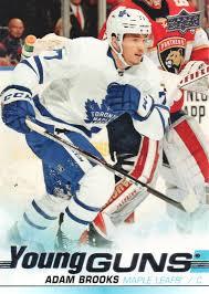 2019-20 Upper Deck Hockey #526 Adam Brooks YG RC | eBay
