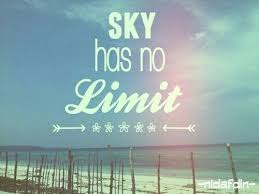 the sky has no limit quote ♡ limit quotes life quotes life