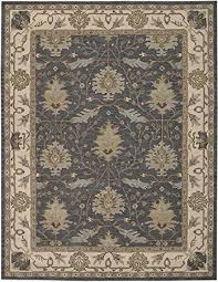 squared worcester traditional area rug