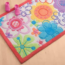 Useful And Beautiful Rugs For Girls Darbylanefurniture Com In 2020 Flower Rug Floral Rug Colorful Kids Room