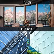 1 2m Window Glass Film One Way Mirror Silver Insulation Stickers Solar Reflective Home Decoration Bedroom Decorative Films Aliexpress