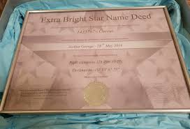 star name registry extra bright star
