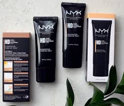 hd studio photogenic foundation от nyx