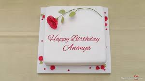 happy birthday ananya best wishes for you