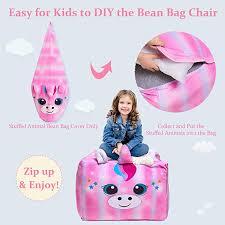 pink unicorn bean bag chair uni
