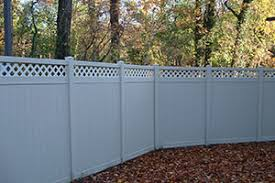Privacy Fence With Lattice Top White Vinyl Longevity Building Materials Supplies