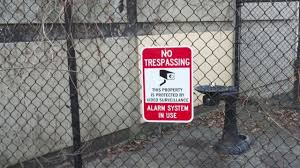 No Trespassing Signs Over 100 Different Options
