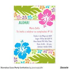 Crea Desde Cero Tu Invitacion Zazzle Es Invitaciones Hawaianas