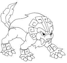 Pokemon Solgaleo Kleurplaat