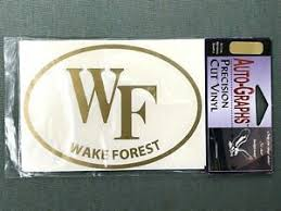 Wake Forest Demon Deacons Ncaa Decals For Sale Ebay
