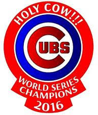 Chicago Cubs World Series Champions Holy Cow Decal Yeti Tumbler Rambler Bl For Sale Online Ebay