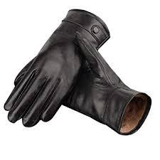 mens soft genuine leather gloves