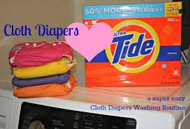 tide my cloth diaper wash routine
