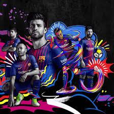 بالصور برشلونة يعلن عن القميص الجديد لموسم 2017 2018