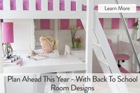 Loft Bed With Desk For Small Room Study Environments Maxtrix Kids