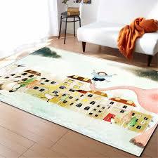 Modern Children Room Carpets Girls Bed Room Decoration Area Rug Bedside Soft Flannel Mat Home Textile Living Room Rug Carpet Carpet Aliexpress