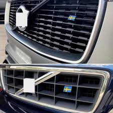 Sweden Swedish Flag Tag Emblem Decal Sticker Personalized Decorative Car Stickers For Volvo Car Stickers Aliexpress