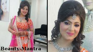 indian wedding makeup neon party look