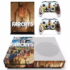 Game Far Cry 5 Farcry Skin Sticker For Microsoft Xbox One S Console And 2 Controllers For Xbox One S Skins Stickers Vinyl Consoleskins Co