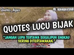 kumpulan caption quotes lucu bijak buat story wa