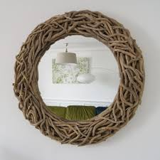 round driftwood mirrors doris in