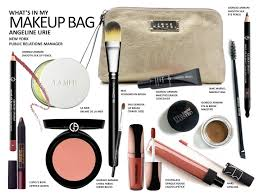 what s in your makeup bag angeline