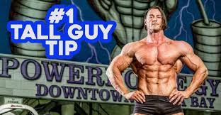 1 Tall Man Exercise Tip from World's Tallest Bodybuilder Aaron Reed -  Atenea191