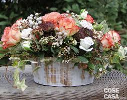 Per la festa della mamma, un cestino fiorito - Cose di Casa