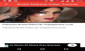 bridal makeup video tutorial step by