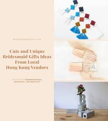 cute and unique bridesmaid gift ideas