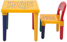 Amazon Com Yuehang Kids Desk Modern Kids Table And Chair Set Multicolor Letter Childern S Desk And Chair Kit Kids Activity Table Set Playing Gaming Room Furniture Kitchen Dining