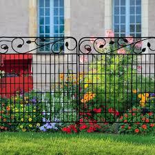Garden Folding Metal Fence Panel In 2020 Metal Fence Panels Steel Fence Panels Metal Fence