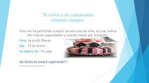 Te Invito A Mi Cumpleanos By Elisabet Chaverra Issuu