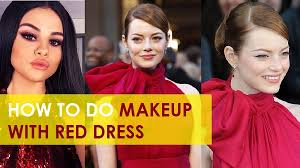 12 best makeup ideas for red dress for