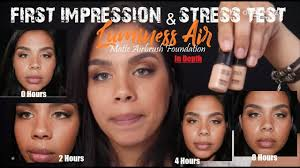 reviews on luminess air makeup