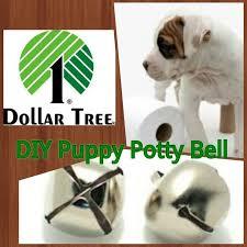 dollar tree diy puppy potty bell