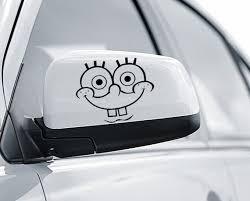 Fun Stickers Spongebob Car Decals X 2 Etsy