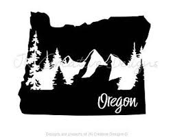 Oregon Car Decal Etsy