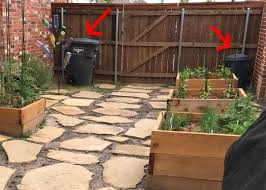How To Build A Trash Can Screen Out Of Fence Boards Everyday Laura