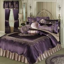purple bedding comforter sets