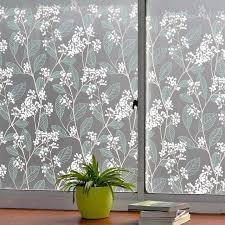 90 200 cm green leaf decorative window